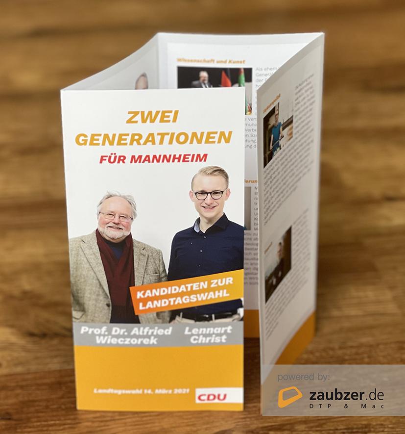 Zwei Generationen für Mannheim (powered by: zaubzer.de)
